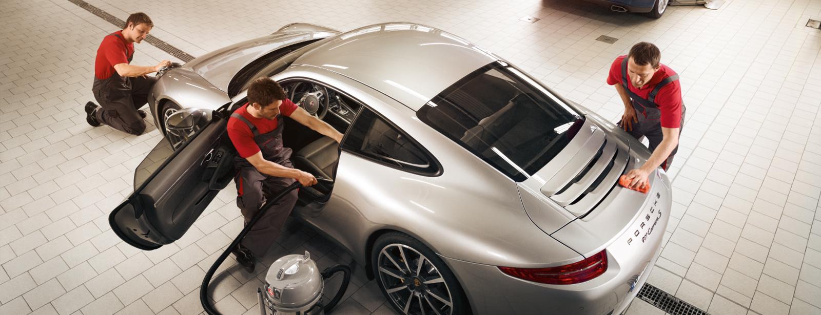 Porsche zentrum leipzig porsche service for Interieur team leipzig