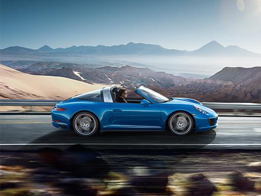 Exklusives Leasingangebot für private Kunden: Porsche 911 Targa 4.