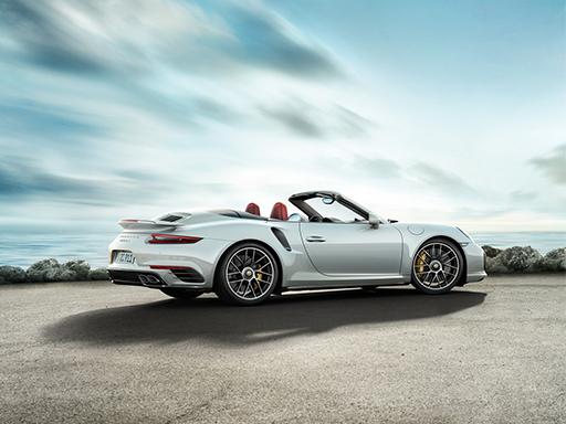 Exklusives Leasingangebot für private Kunden: Porsche 911 Turbo S Cabriolet.