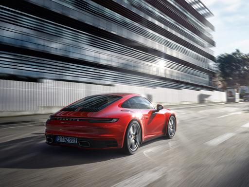 Exklusives Leasingangebot für gewerbliche Kunden: Porsche 911 Carrera