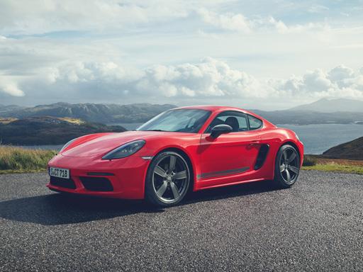 Exklusives Leasingangebot für private Kunden: Porsche 718 Cayman T.