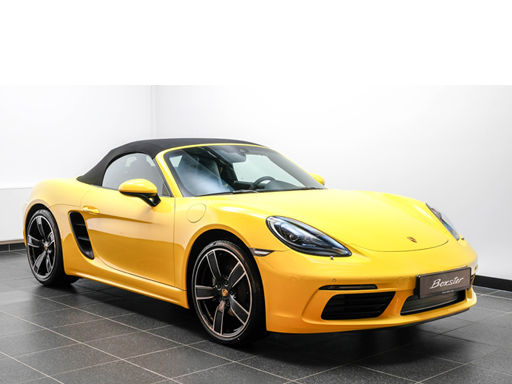 Exklusives Leasingangebot für private Kunden: Porsche 718 Boxster.