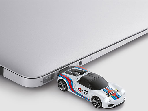 "USB-Stick 918 Spyder ""MARTINI RACING"", 8 GB"