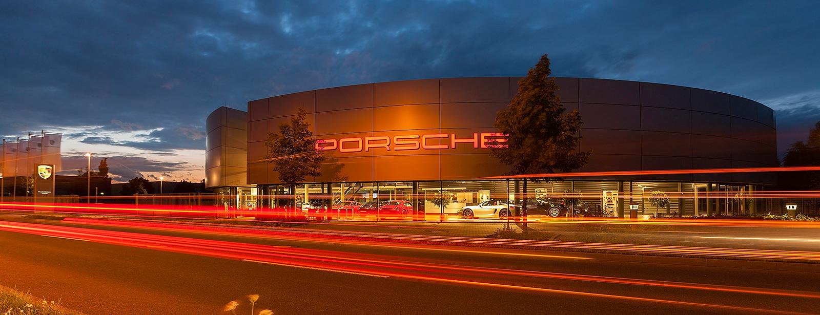 Porsche Zentrum Leipzig 187 Herzlich Willkommen